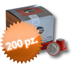 200 Compatibili Nespresso Gimoka dirompente