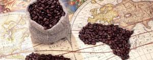 Cartina geografica caffè
