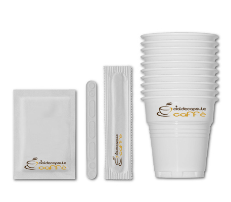 Bicchierini Zucchero Palette Caffè