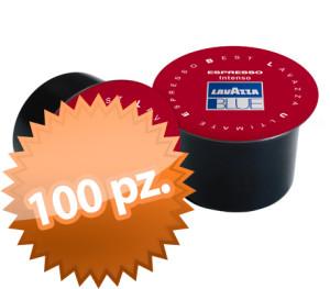100 Capsule Lavazza Blue gusto intenso