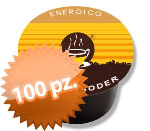 100 capsule espressoder energico