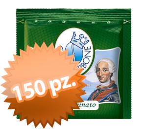 150 Cialde Filtro Carta Borbone Dek