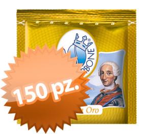 150 Cialde Filtro Carta Borbone Oro