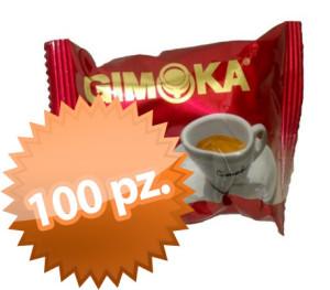 100 Capsule Gimoka Gran Bar intenso Bialetti