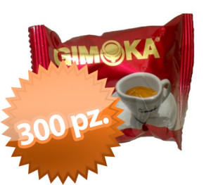 300 Capsule Gimoka Gran Bar intenso Bialetti