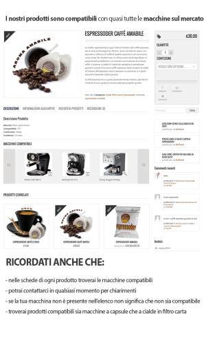 Scheda prodotti Cialdecapsulecaffe