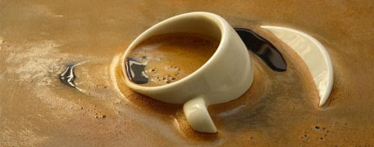 Tazzina caffè sporca