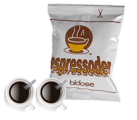 Espressoder bidose Espresso e Cappuccino logo