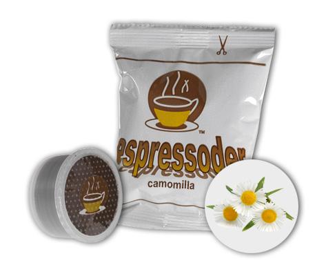 Compatibili Espresso Point aromatizzato camomilla Espressoder