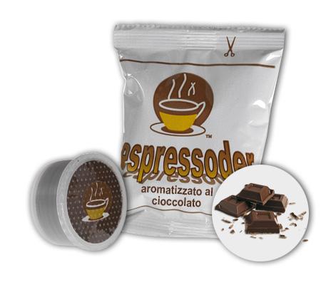 Compatibili Espresso Point aromatizzato cioccolato Espressoder