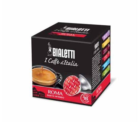 Capsule caffè Mokespresso Bialetti Roma