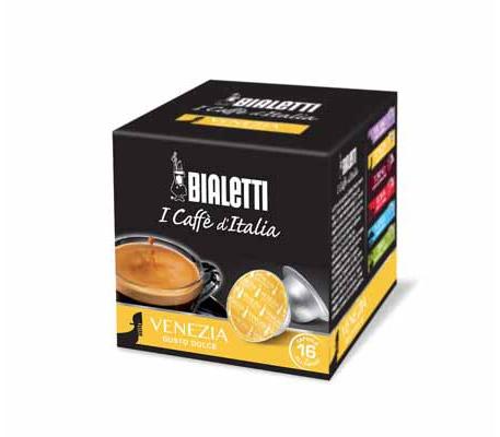 Capsule caffè Mokespresso Bialetti Venezia