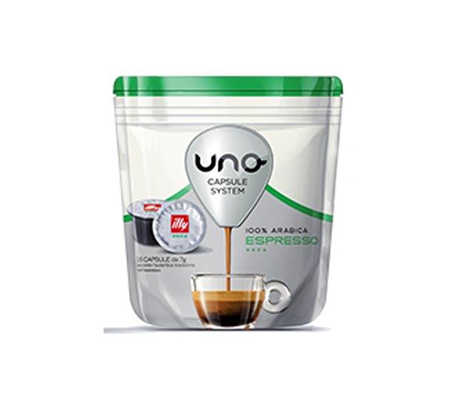 Cialde Illy Uno Espresso System Decaffeinato