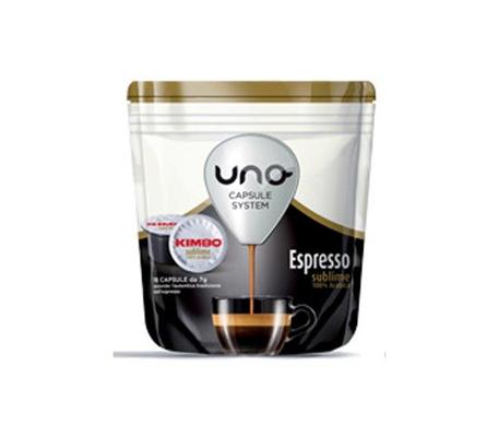 Cialde Kimbo Uno Espresso System Sublime