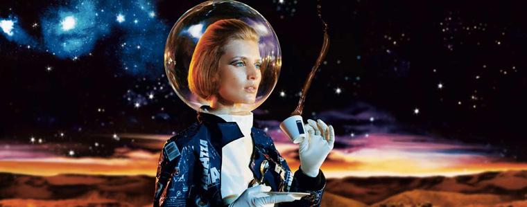 Caffè Lavazza nello spazio