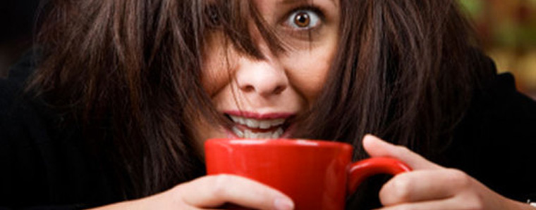 Il caffè rende nervosi