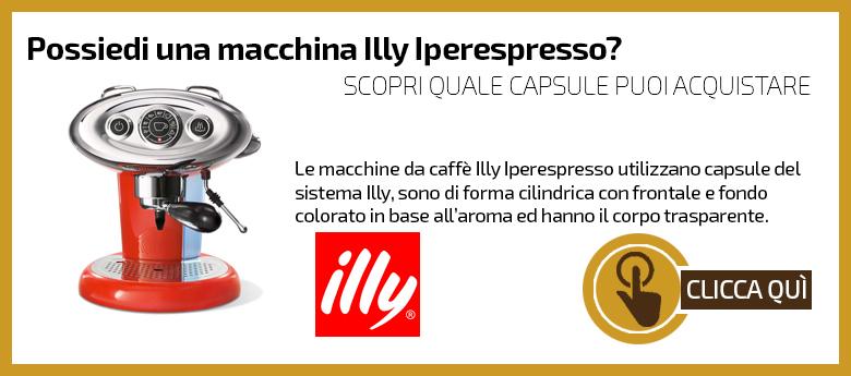 Macchine capsule Illy Iperespresso