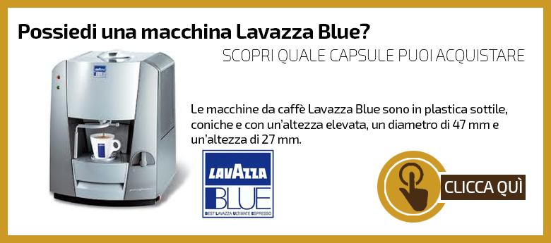 Macchine compatibili Lavazza Blu