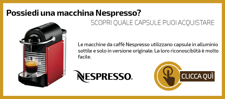 Macchine capsule Nespresso