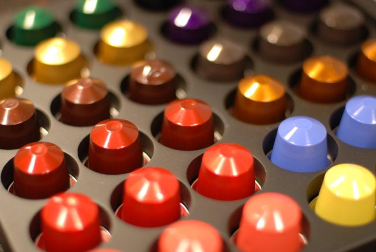 Capsule Nespresso colorate