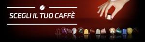 Banner scegli il tuo caffè