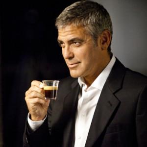 George Clooney testimonial del caffè