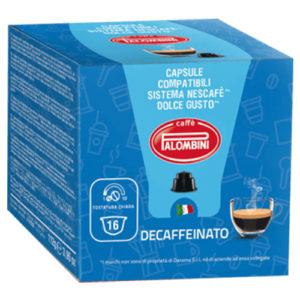 Caffè Palombini compatibili Nescafè Decaffeinato