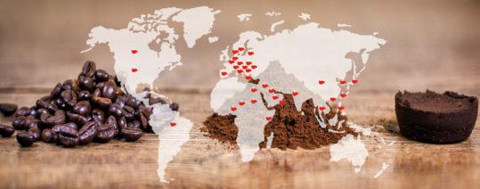 Tour del caffè nel mondo
