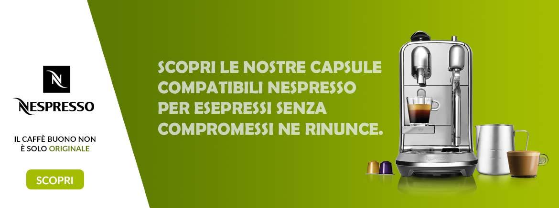 Banner home caffè Nespresso